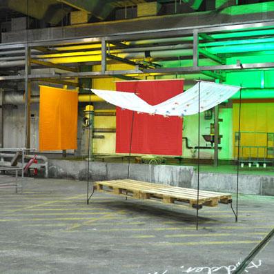 Installation i Guld og grønne skove Kbh. DK