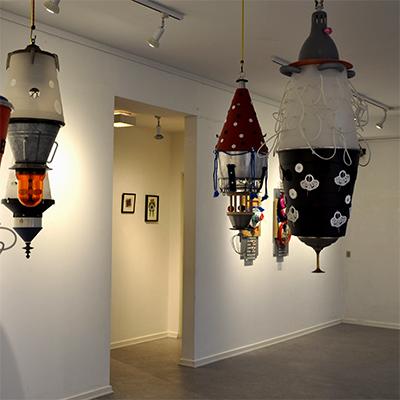 Del fra Udstilling på Lyngby Kunstforening